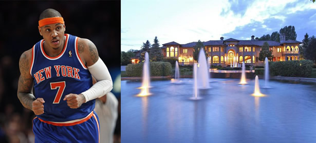 Carmelo Anthony's Home