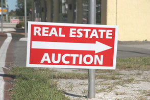 Foreclosure real estate auction