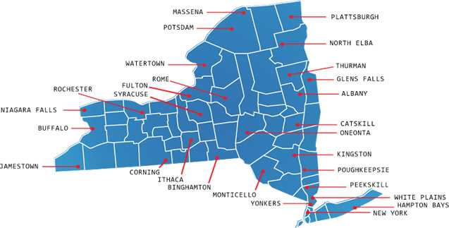Purchase Ny Map Purchase Ny Map