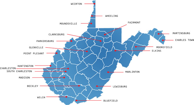 wv Map